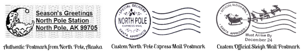 North Pole Santa Letters | North Pole Letters from Santa Claus