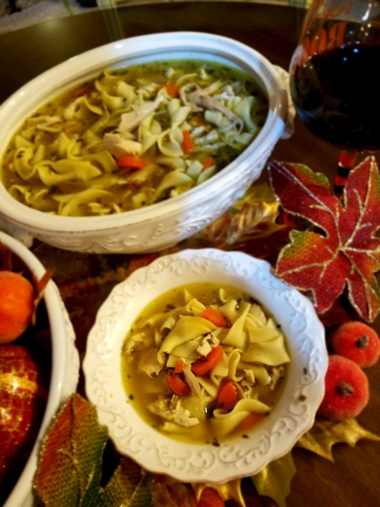 Healthy & Hearty Homemade Chicken Noodle Soup