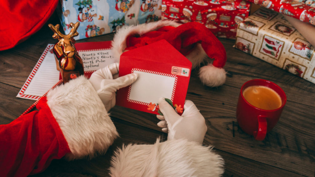 North Pole Santa Letters