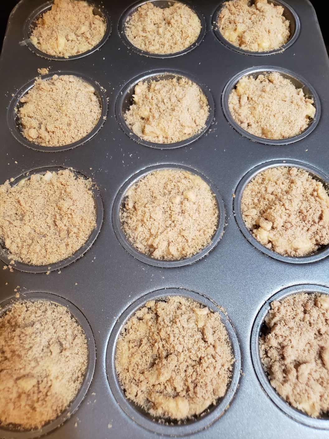 Pre-Cooked Apple Muffins