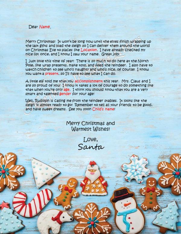 Christmas Cookies Accomplishments Take Courage