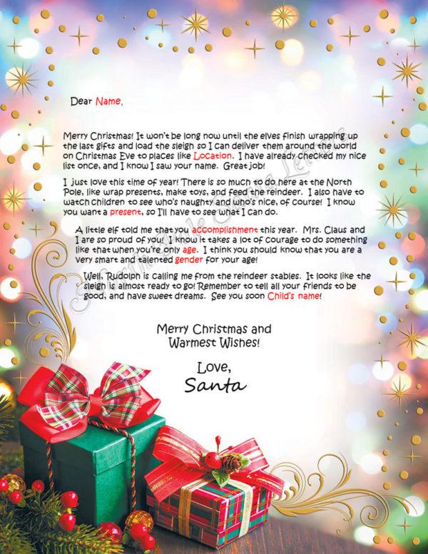 Christmas Gifts Accomplishments Take Courage