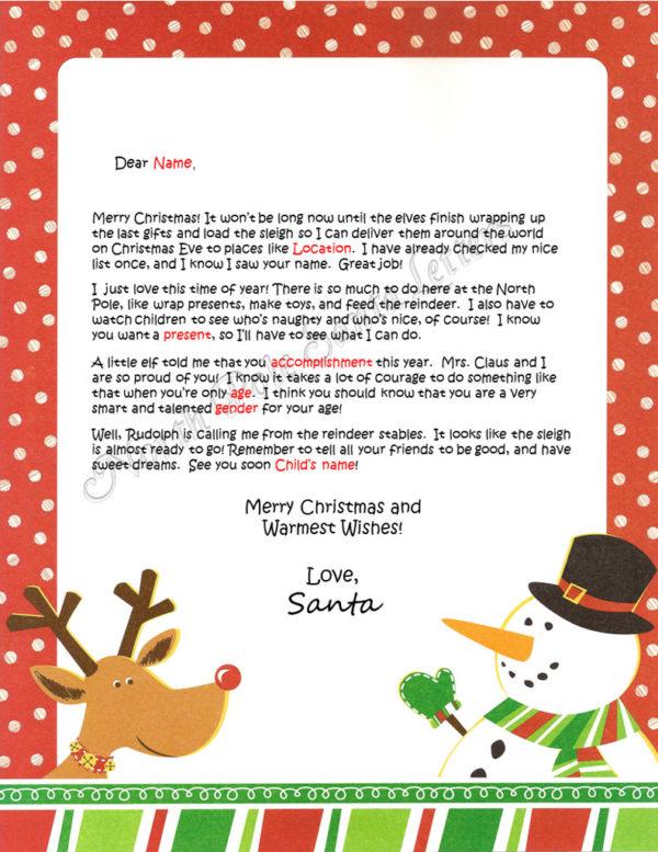 Rudolph & Frosty Accomplishments Take Courage