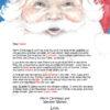 Santa's Face Accomplishments Take Courage