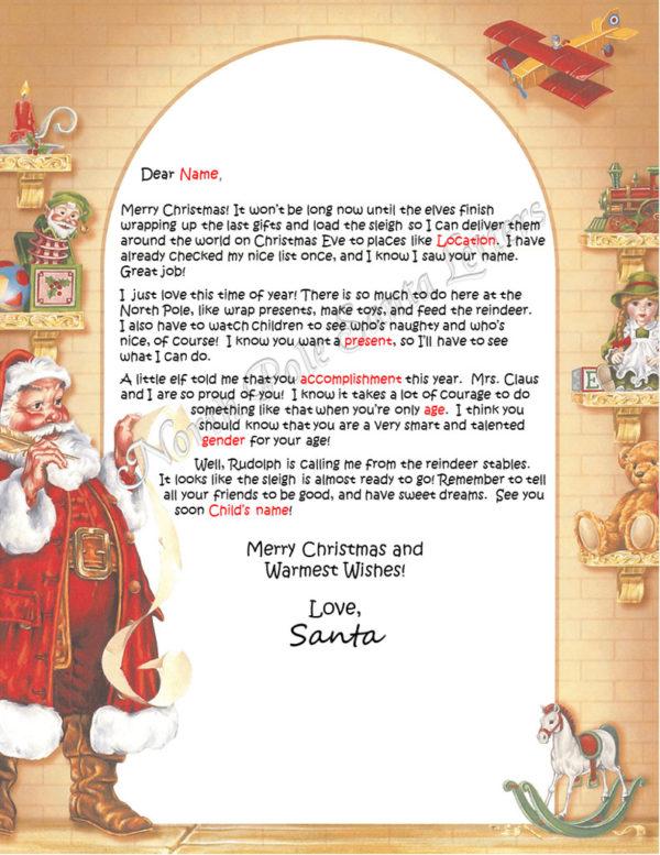 Santa's List Accomplishments Take Courage