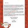 Waving Santa Accomplishments Take Courage