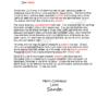 Letter from Santa Celebrate Jesus