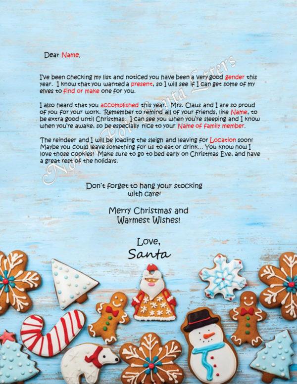 Christmas Cookies Checking My List