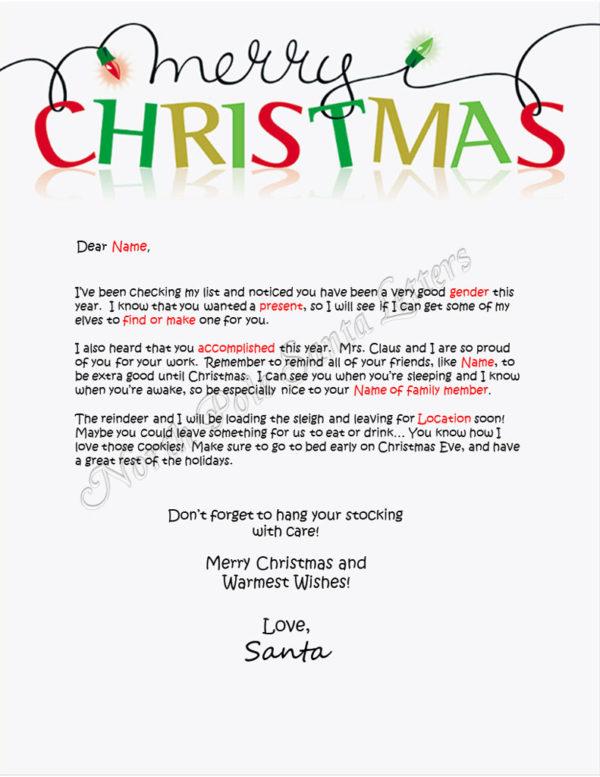 Merry Christmas Checking My List