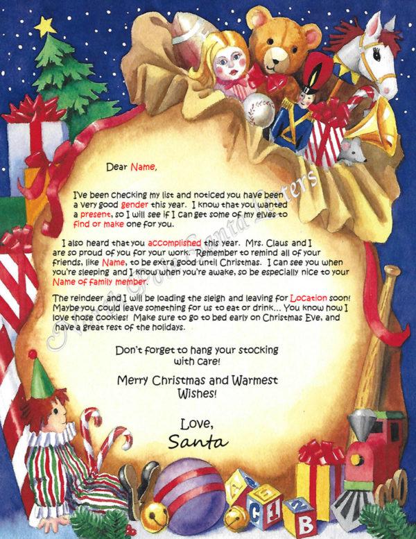 Santa's Bag Checking My List