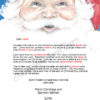 Santa's Face Checking My List