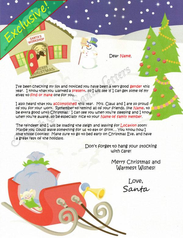 Santa's Workshop Checking My List