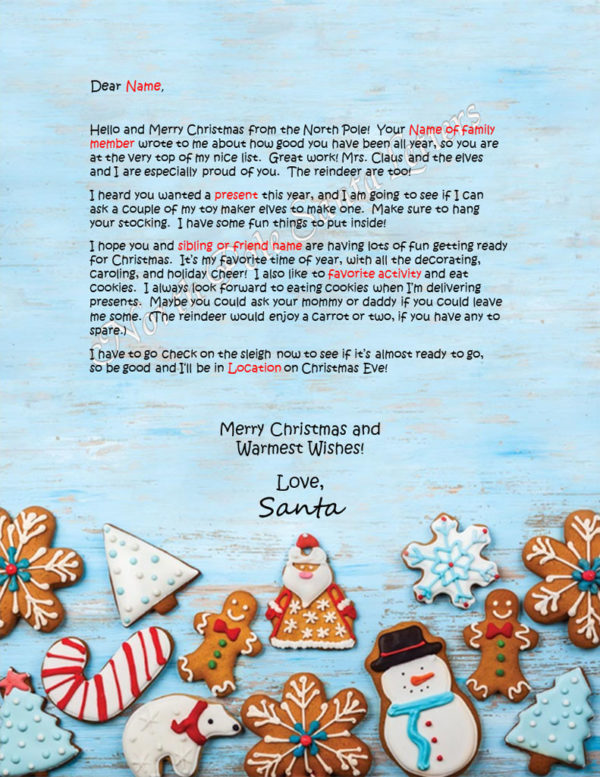 Christmas Cookies Family and Activities