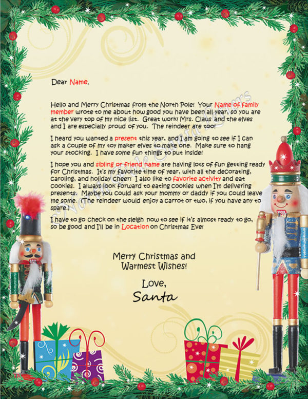 Nutcrackers Family and Activities