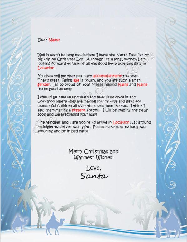 Winter Nativity Heading Your Way