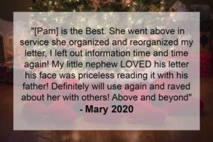 Testimonial Mary 2020
