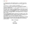 Letter from Santa - Santa Means Believing