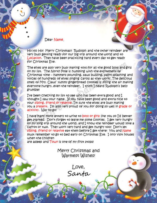 Christmas Lights The North Pole