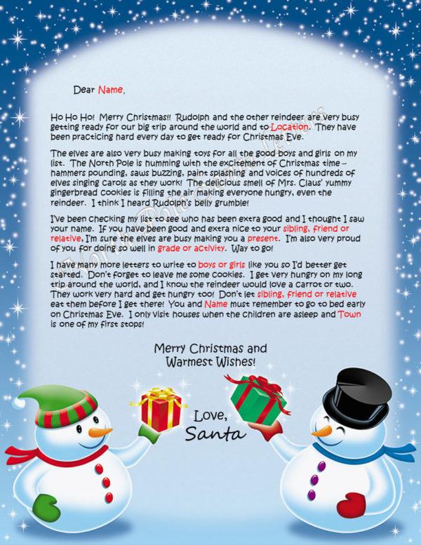 Friendly Snowmen The North Pole