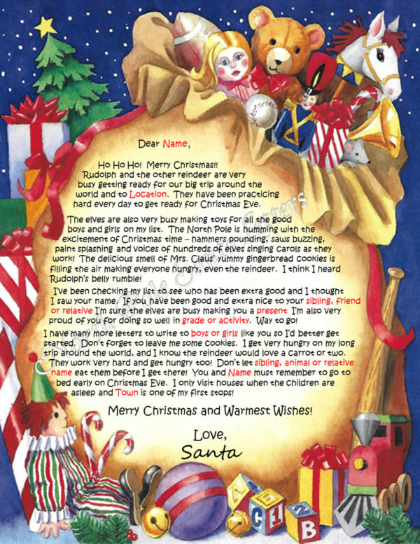 Santa's Bag The North Pole