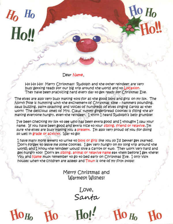 Santa's Beard The North Pole