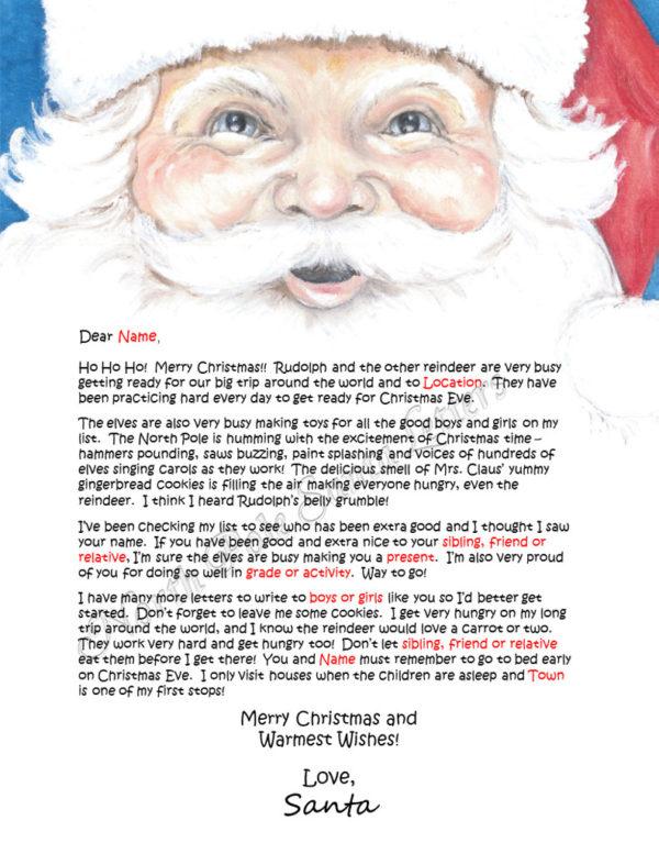 Santa's Face The North Pole