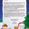 Santa's Friends the North Pole Letter