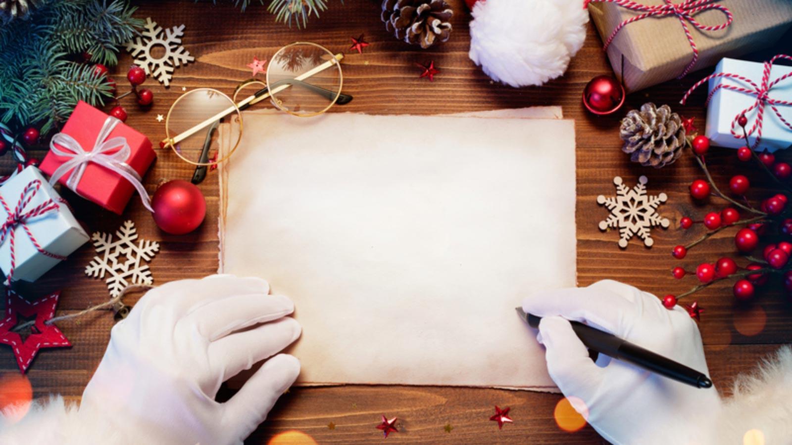 North Pole Santa Letters