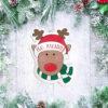 Rudolph Face Ornament