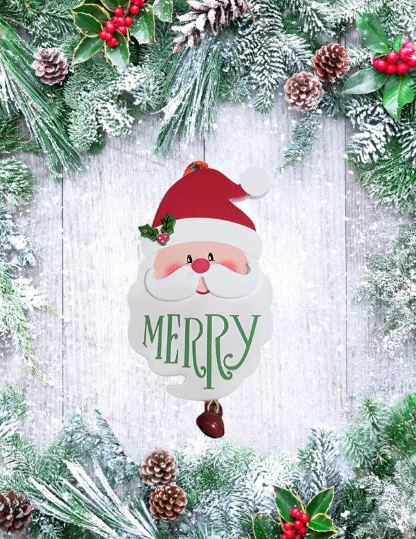 Santa be Merry Ornament