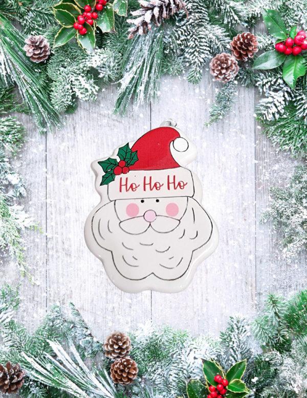 Santa's Face Ornament